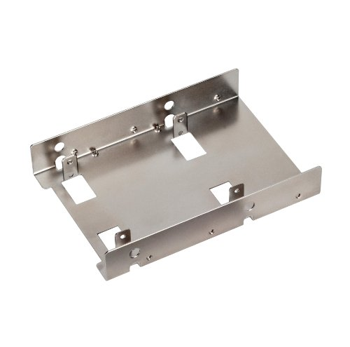 SILVERSTONE SDP08 3.5 to 2 X 2.5-Inch Bay Converter
