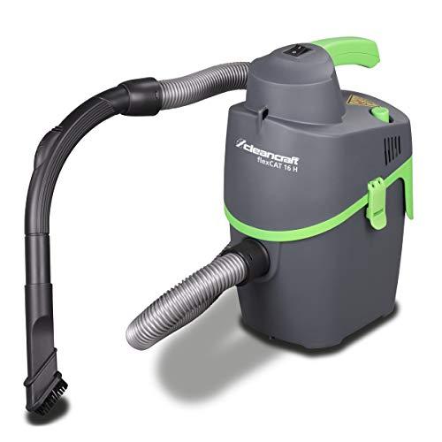 Cleancraft Trockensauger flexCAT 16 H, Behälter 6 l, tragbar mit Schultergurt, umfangreiches Zubehör, 7003110