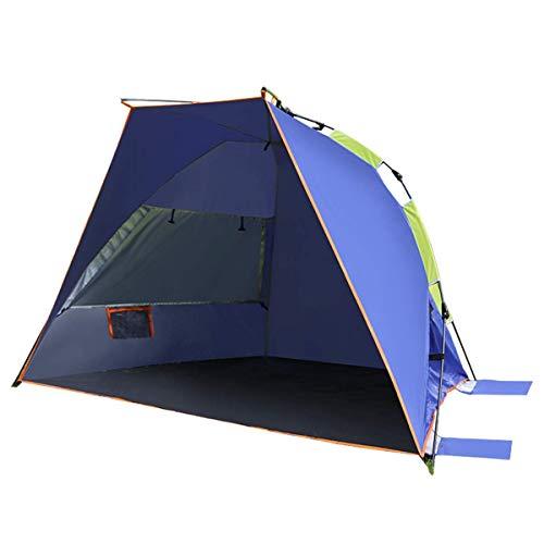 Yuzhonghua Outdoor-Reisezelte Familie Zelte, Zelte Strand Subnotebook Cabrio Outdoor-Camping-Zelt Camping Strand Angeln Zelt frei automatisches Feld zu Bauen