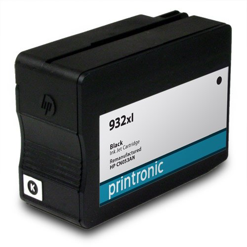 Printronic Remanufactured Ink Cartridge Replacement for HP 932xl ( Black , 2-Pack ) Photo #2