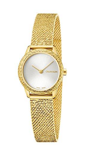 Calvin Klein Minimal K3M23V26 Reloj de Pulsera para Mujeres