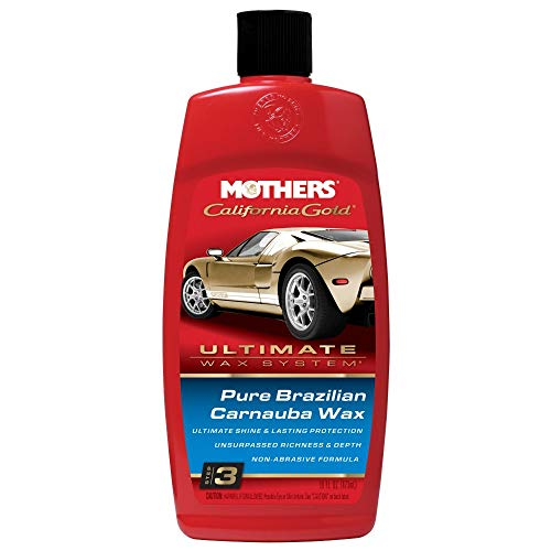 Mothers 05750 California Gold Pure Brazilian Carnauba Liquid Wax (Ultimate Wax System, Step 3) - 16...