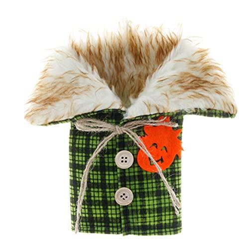 QKFON Bolsa reutilizable para botellas de vino, para decoración de Navidad, para fiestas de Navidad, para fiestas de Navidad