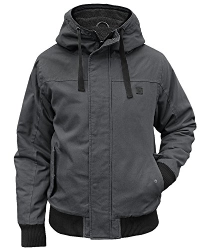 Brandit Winterjacke Grizzly anthrazit - M