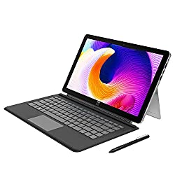 """Image of XIDU PhilPad 13.3"""" Windows Tablet with Keyboard, Full HD Touchscreen Laptop 2 in 1 Tablet, Intel x7-E3950 Quad-Core Processor, 6GB RAM 128GB ROM, Type-C Charging, Detachable Keyboard & Stylus Included: Bestviewsreviews"""