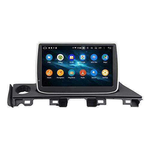 JIBO Android 10 Coche Estéreo Radio Navegacion GPS Cabeza Unidad Toque Pantalla SWC Teléfono Controlar Bluetooth DVD Reproductor Multimedia para Atenza 2017 Vídeo Receptor