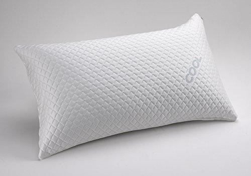 Belnou. Almohadas y Fundas Cool con Tejido Termoregulador Anti-Calor. (Funda 75 cm)