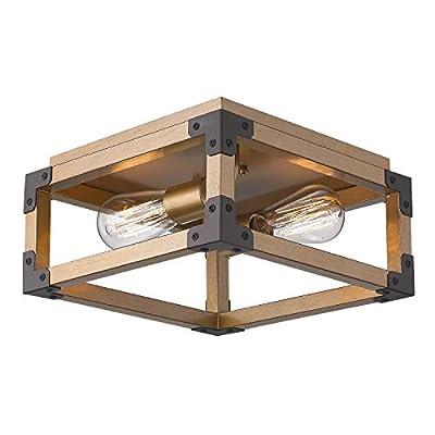 Zeyu 2-Light Ceiling Light