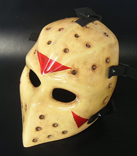 INVADER KING Heat Airsoft Army of Two Airsoft Mask Protective Gear Outdoor Sport Fancy Party Ghost Masks Bb Gun (Jason)