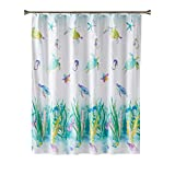 SKL Home by Saturday Knight Ltd. Watercolor Ocean Fabric Shower Curtain, Multicolored