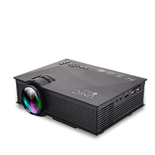 Beamer, 1080p, draadloos, mini-projector, draagbaar, ondersteunt WiFi, met USB-aansluiting, VGA, HDMI.