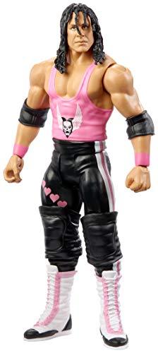 WWE GCB67 - Basis Actionfigur Bret Hitman Hart 15 cm, Actionfiguren ab 6 Jahren