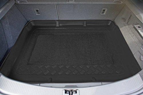 Kofferraumwanne mit Anti-Rutsch passend für Opel Astra J GTC HB/3 10/2011- erhoehte Ladeflaeche