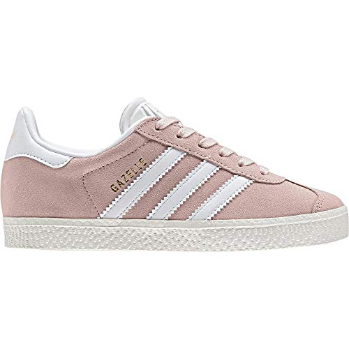 adidas Unisex-Kinder Gazelle C Fitnessschuhe, Pink (Roshel/Ftwbla/Dormet 000), 28.5 EU