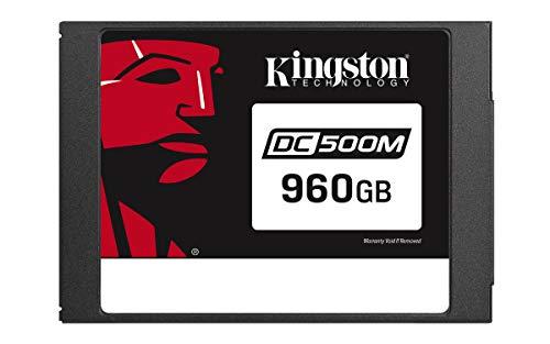 "Kingston Data Center DC500R, SEDC500M/960G, Unidad de estado sólido SSD, Enterprise 2.5"" 960 GB"