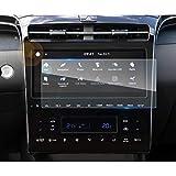 LFOTPP 10 Zoll Navigation Panzerglas Schutzfolie für Tucson NX4, GPS Navi Bildschirmschutzfolie