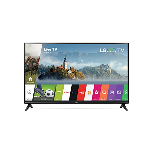 LG 43LJ5500 Televisor 43', Resolución 1920 X 1080, 60 Hz, Potencia 10W, HDMI, USB, color Negro