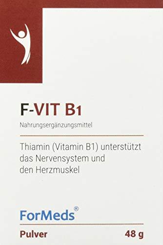 Formeds F-VIT B1 Thiamin Pulver (Vitamin B1) - 50 mg, 60 Portionen