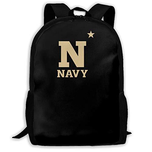 College Rucksack,School Laptop Bag,Travel Knapsack,Waterproof Shoulder Backbag,Men Women Camping Backpack,Us Navy Naval Academy