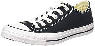 Converse Unisex Chuck Taylor All Star Low Basketball Shoe (37-38 M EU/7 B(M) US Women/5 D(M) US Men, Black)