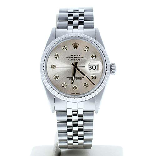 Rolex-Mens-Datejust-16030-Custom-Diamond-Dial-Certified-Preowned