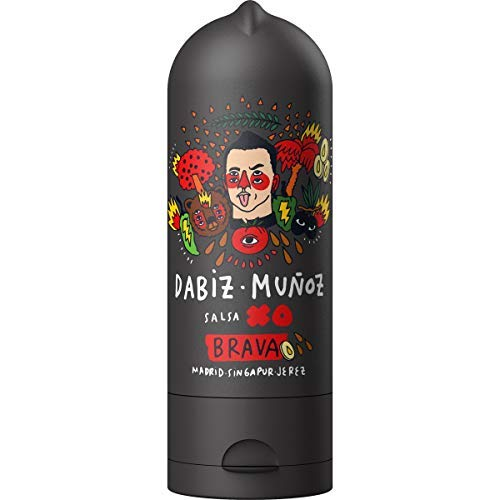 Dabiz Muñoz Salsa Brava - Con Toques Exóticos - ( Pasta de Gamba -Jengibre - Lima )- Ideal para Darle un Sabor Especial a tus Comidas 245 Gramos