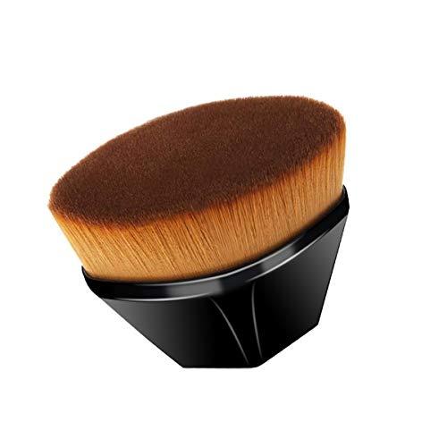 Foundation Pinsel Make-up Pinsel Flat Top Gesicht Pinsel Groove Design Blush Pinsel zum Mischen von Flüssigkeit, Creme, Concealer Premium