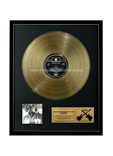 Rock Guitar Miniatures RGM1016 The Beatles Revolver Gold Disc 24K placcato disco LP 30,5 cm