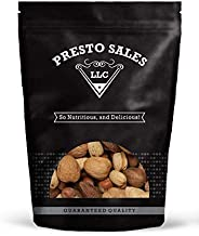 Mixed nuts, Fancy MIXTURE In Shell raw large (5 lbs.) by Presto Sales LLC