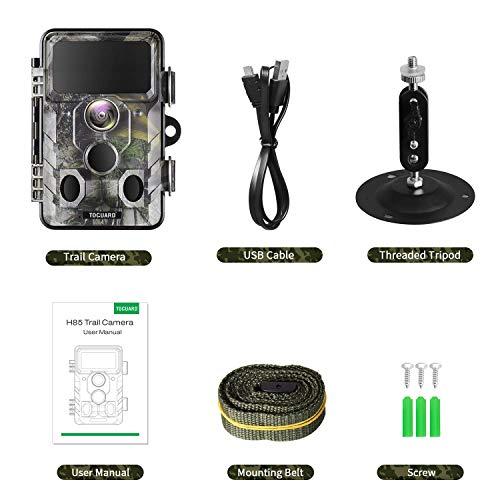 TOGUARD H85 WLAN Bluetooth Wildkamera 20MP Erfahrungen & Preisvergleich