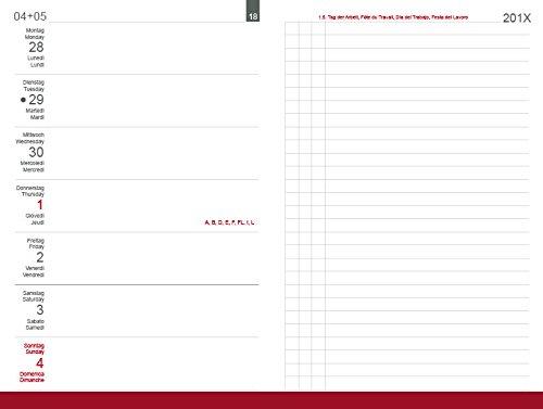 X17 A5 Wochenkalender Links 2020, inkl. Leporello/Faltplaner für das revolutionäre X17-Kalenderbuch mit auswechselbaren Heften
