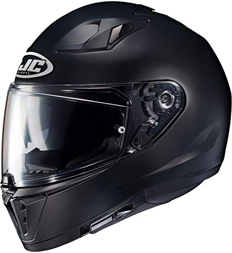 HJC Helmets Unisex Erwachsene I70 Helmet, Schwarz, XXL EU
