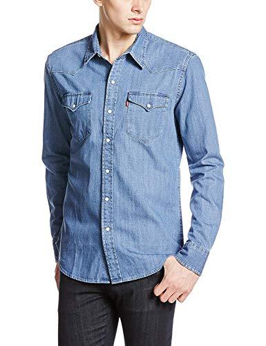 [リーバイス] クラシックウエスタン カジュアルシャツ メンズ 66986 レッドキャストストーン US L (日本サ...