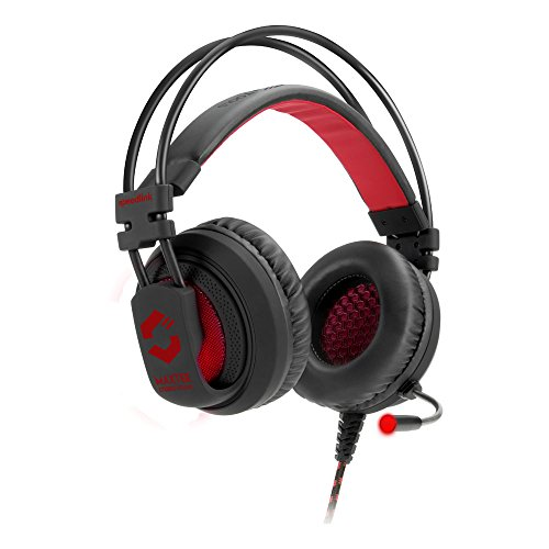 MAXTER Stereo Gaming Headset, black