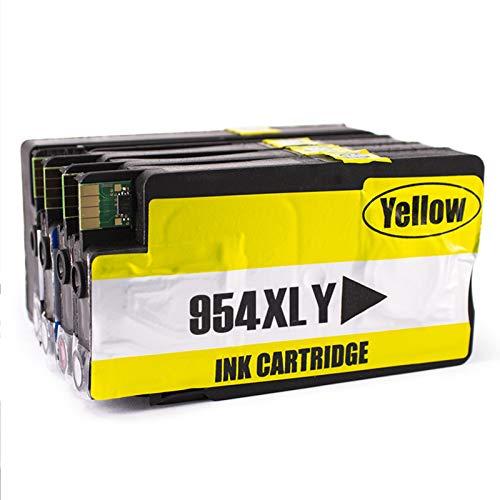 Cartucho de tinta 954XL, repuesto para impresora HP OfficeJet Pro 8210 8710 8720 8216 8745 8746 8747 8724 Cartuchos de tinta compatibles con 4 colores