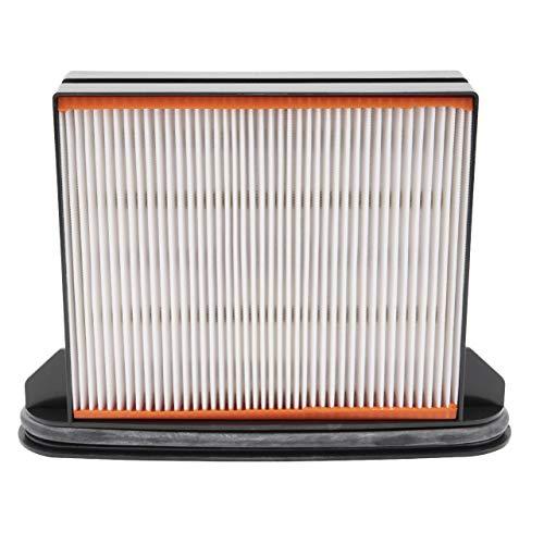 vhbw Staubsaugerfilter passend für Spit AC1600, AC1625, AC1630P, AC1630PM Staubsauger HEPA-Faltenfilter-Nassfilter