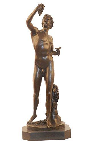 Toperkin Myth Figure Statue Male Bacchus Home Decor Bronze Sculpture TPY-340