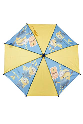 Minions Kinder-Regenschirm Blau/Gelb