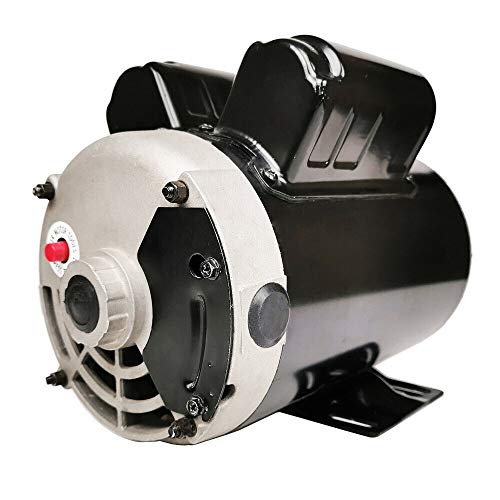TUOKE NEW 3HP Electric Motor for air Compressor 3455 RPM 5/8' Shaft 14.7 AMP 56 FRAME Heavy Duty