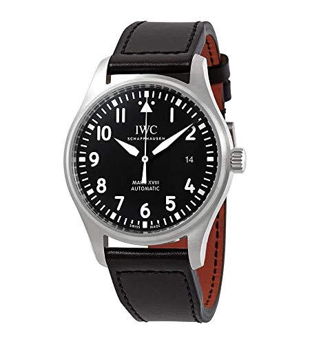 IWC Pilot's Mark XVIII Reloj automático para hombre con esfera negra IW327009