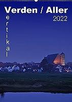 Verden / Aller - vertikal (Wandkalender 2022 DIN A2 hoch): 13 vertikale Ansichen aus Verden an der Aller (Monatskalender, 14 Seiten )