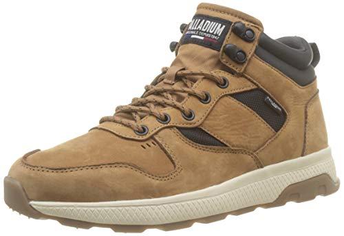 Palladium Herren AX_EON Army R MID LTH Sneaker, Mahogany 819 braun, 46 EU