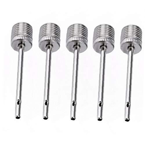 5 Stück Universal-ballpumpe Nadel Haltbare Metall-luftpumpe Nadeln Für Die Sprengung Fußball Basketball