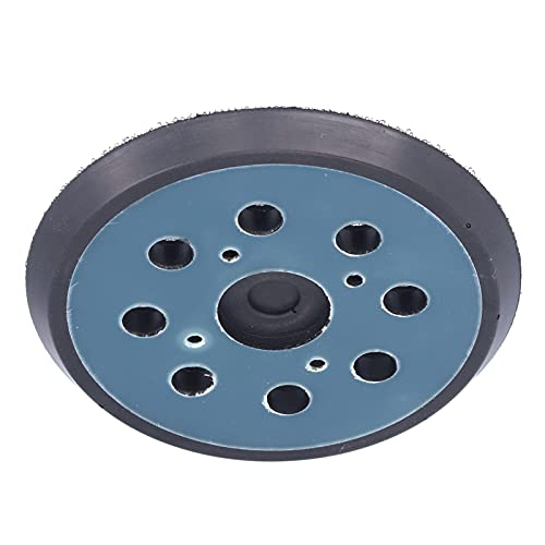 Discos de lixa tipo gancho de 5 polegadas, base de lixa reduzem o acúmulo de poeira para moedor elétrico