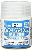 GSIクレオス アクリジョン ベースカラー ベースホワイト 18ml 模型用塗料 BN01