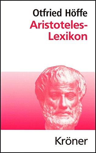 Aristoteles-Lexikon (Kröners Taschenausgaben (KTA))