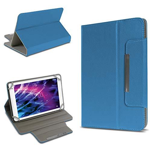 UC-Express Robuste Schutzhülle für Medion Lifetab P8524 Tablet Standfunktion Hülle Schutztasche Ständer Tasche Cover Hülle, Farben:Blau