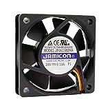 Jamicon Ventilador 60 mm 60 x 60 x 15 JF0615B2HA 24 V DC 0,13 A 3,12 W Air Fan 60 mm 6 cm 3 hilos (+/-/Sensor) Refrigeración