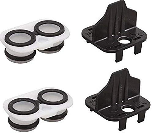 (2PK) RP46073 Cartridge Adapter Replacement for Delta MultiChoice 17 Series Faucet