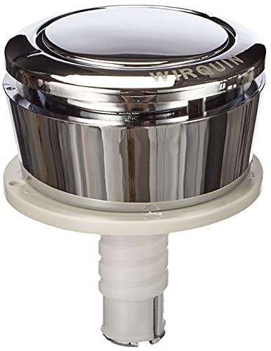 Wirquin 19007001jollyflush Bouton poussoir simple chasse d'eau WC Chromé–Multicolore